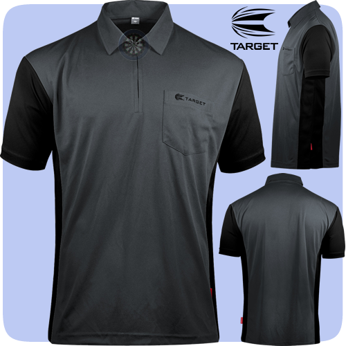 Target Coolplay Hybrid 3 Shirt Grey & Black