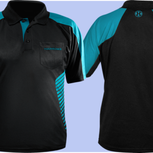 Harrows Vivid Dartshirt Aqua