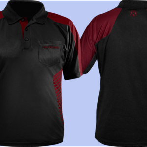 Harrows Vivid Dartshirt Deep Red