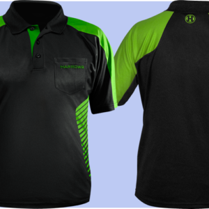 Harrows Vivid Dartshirt Green
