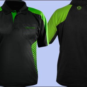 Harrows Vivid Dartshirt Green