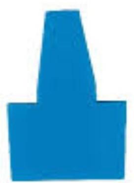 Bull's Pyramide Pointholder Blue