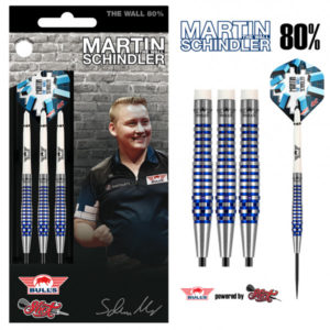 Bull's Martin Schindler The Wall PCT Blue 80%