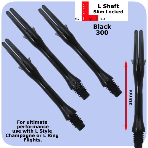 L-Style Locked Shafts 30mm