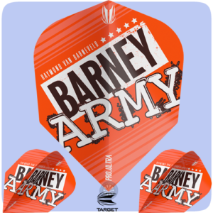Raymond Van Barneveld Barney Army Orange No. 6