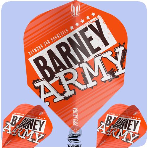Raymond Van Barneveld Barney Army Orange No. 6