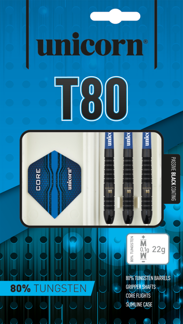 Unicorn Core XL T80 Black B 80%