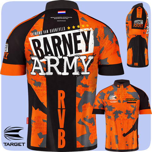 Raymond van Barneveld - Target Authentic Shirt