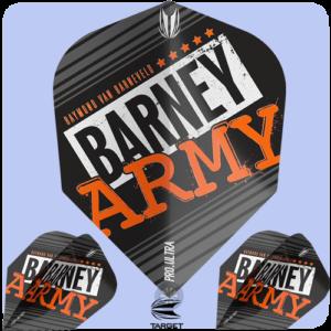 Raymond van Barneveld Barney Army Black No. 6